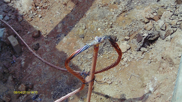 Grounding System Installation Cable
