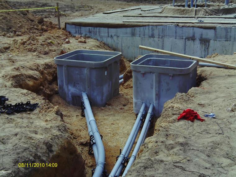 Signal Conduit Manhole Installation