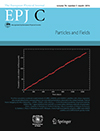 March 2016 cover of the European Physical Journal